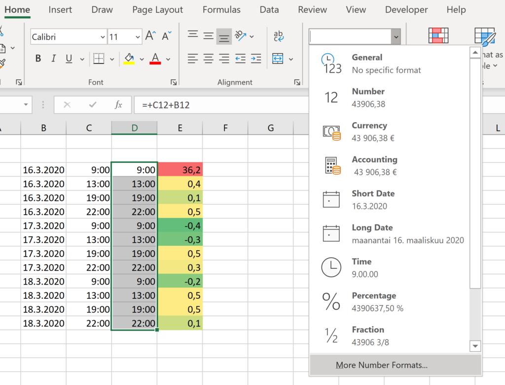 Excel Sarake